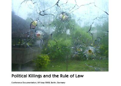 Politische Morde und Rechtstaatlichkeit