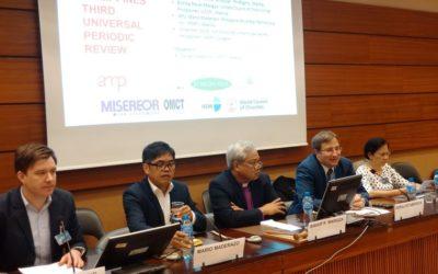 Side-Event beim Menschenrechtsrat in Genf