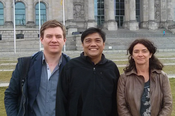 Mervin Toquero visits Berlin