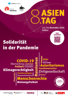 8. Asientag am 13./14. November 2020 ONLINE